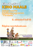 Filmifestival Kino maale Räpina Noortekeskuses!